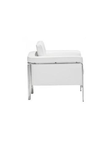 Sillon Individual marca Zuo modelo Singular - blanco / 900161 - Envío Gratuito