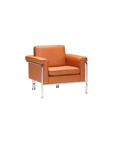 Sillon Individual marca Zuo modelo Singular - naranja / 900162 - Envío Gratuito