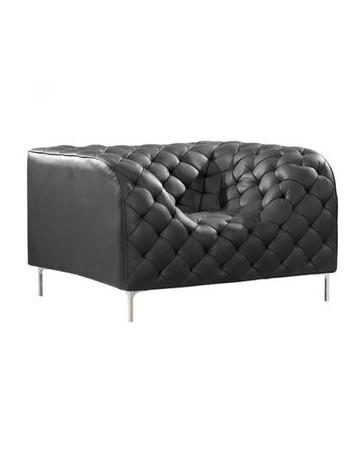 Sillon Individual marca Zuo modelo Providence con brazos - negro / 900270 - Envío Gratuito