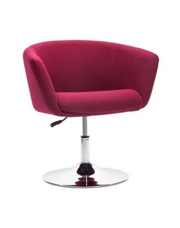 Silla ocasional marca Zuo modelo Umea - purpura 500340 - Envío Gratuito