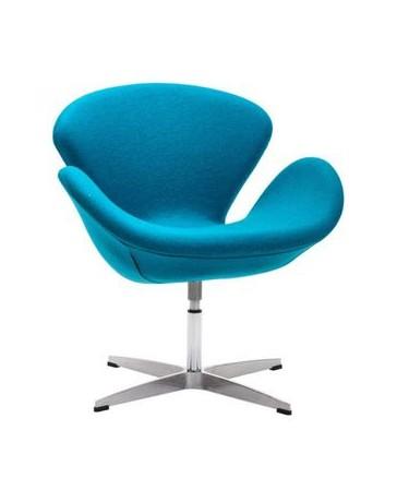 Silla ocasional marca Zuo modelo Pori - azul / 500311 - Envío Gratuito