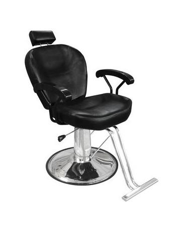 Silla Barbero Sillon Hidraulica Reclinable Peluqueria Barber - Envío Gratuito
