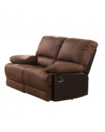 Love Seat Quartz 2 Reclinables Lotus - Envío Gratuito