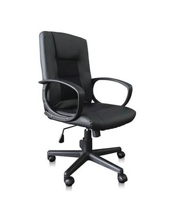 Sillón Ejecutivo Económico en Color Negro Mod. JM-6054 - Envío Gratuito
