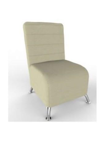Turin Desales sillon Turin tapizado en Vinipiel-Beige - Envío Gratuito