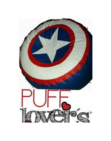 Puff Lover´s Sillon Puff Capitan America - Envío Gratuito